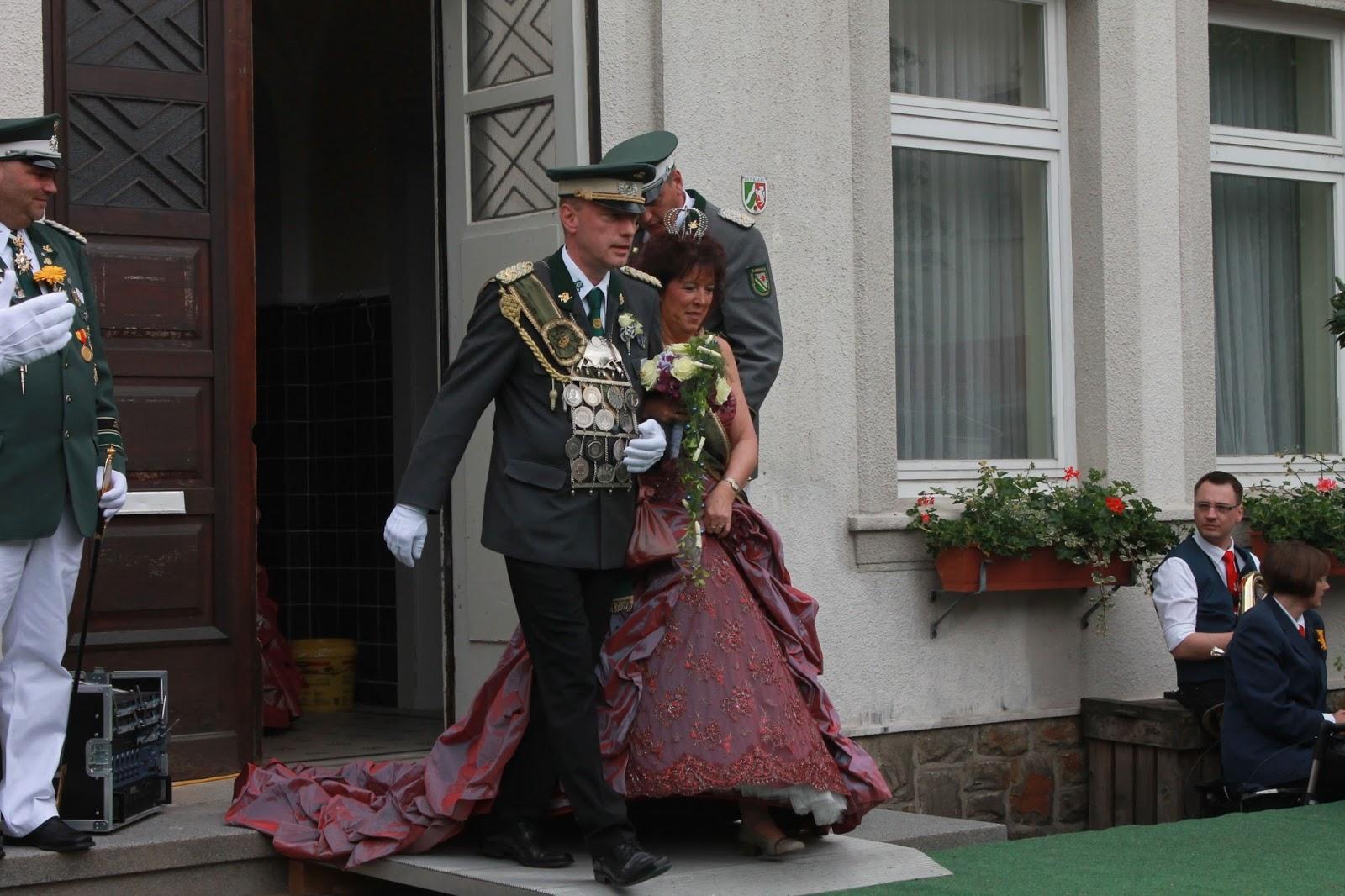 Königspaar aus dem Rathaus